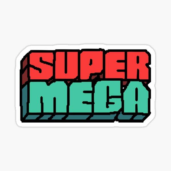 Supermega Logo Sticker