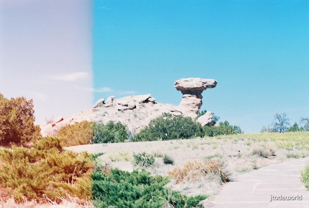 Camel Rock - 35mm by jtodaworld