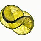 Cool lime twist by Celeste Mookherjee