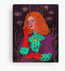 MYRTLE SNOW/ BURN THE WITCH Canvas Print