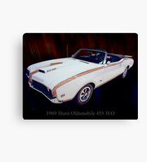 1969 Hurst Oldsmobile 455 Ho Convertible Canvas Print