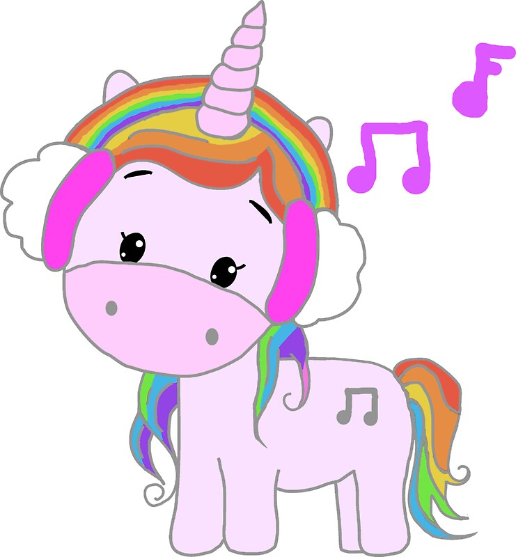 cute unicorn cartoon - 741×800