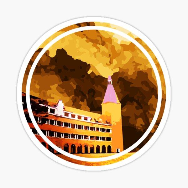 Pedagogical College of Da Lat Vietnamese National Architecture Relic Sticker