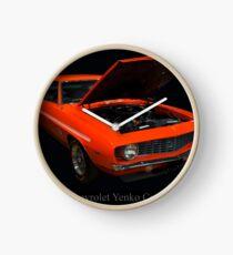 1969 Chevy Yenko Camaro Sc Clock