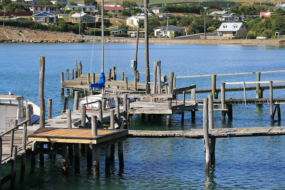 The Jetty at Riverton by DRWilliams