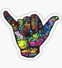 Trippy Shaka Sticker