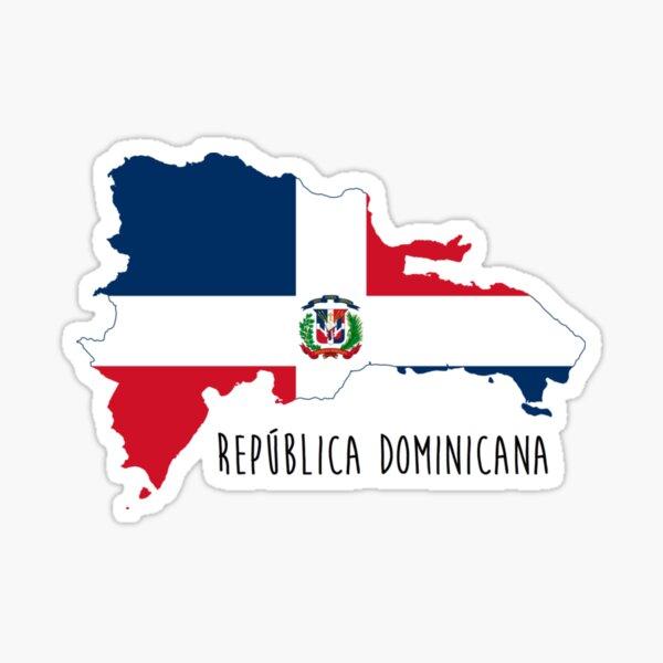 República Dominicana Pegatina