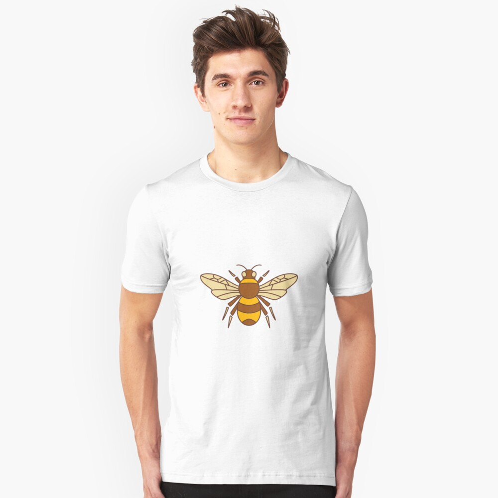Bumble Bee Icon Camiseta ajustada