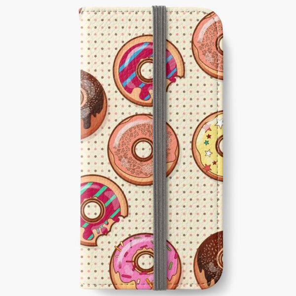 I Love Donuts Yummy Baked Goodies Sugary Sweet iPhone Wallet