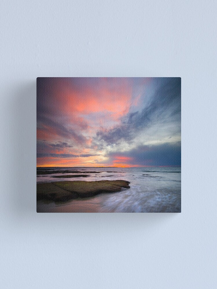 Alternate view of Time of the Ocean Canvas Print