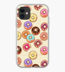 I Love Donuts Yummy Baked Goodies Sugary Sweet iPhone Case