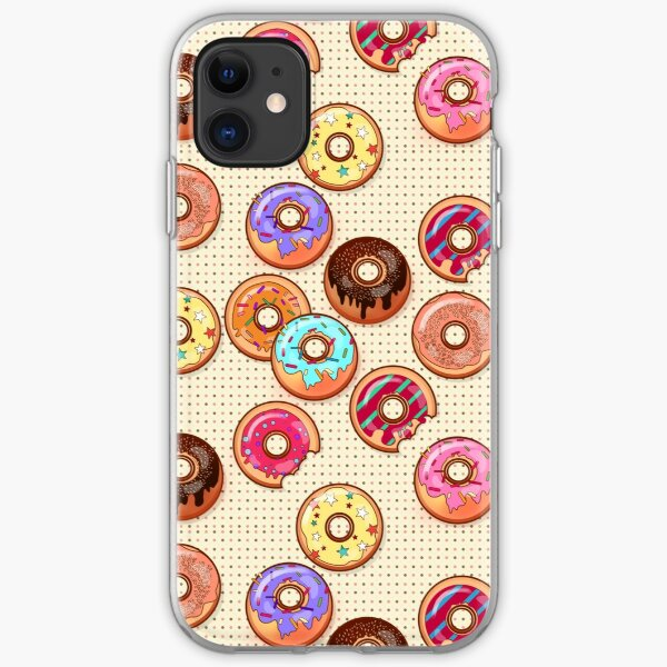 I Love Donuts Yummy Baked Goodies Sugary Sweet iPhone Soft Case