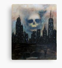 The Desolate City Canvas Print