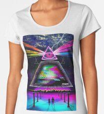 Static Intelligence - VHS 80's Glitch Women's Premium T-Shirt