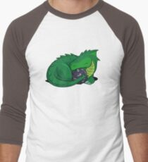 D20 Green Dragon Men's Baseball ¾ T-Shirt