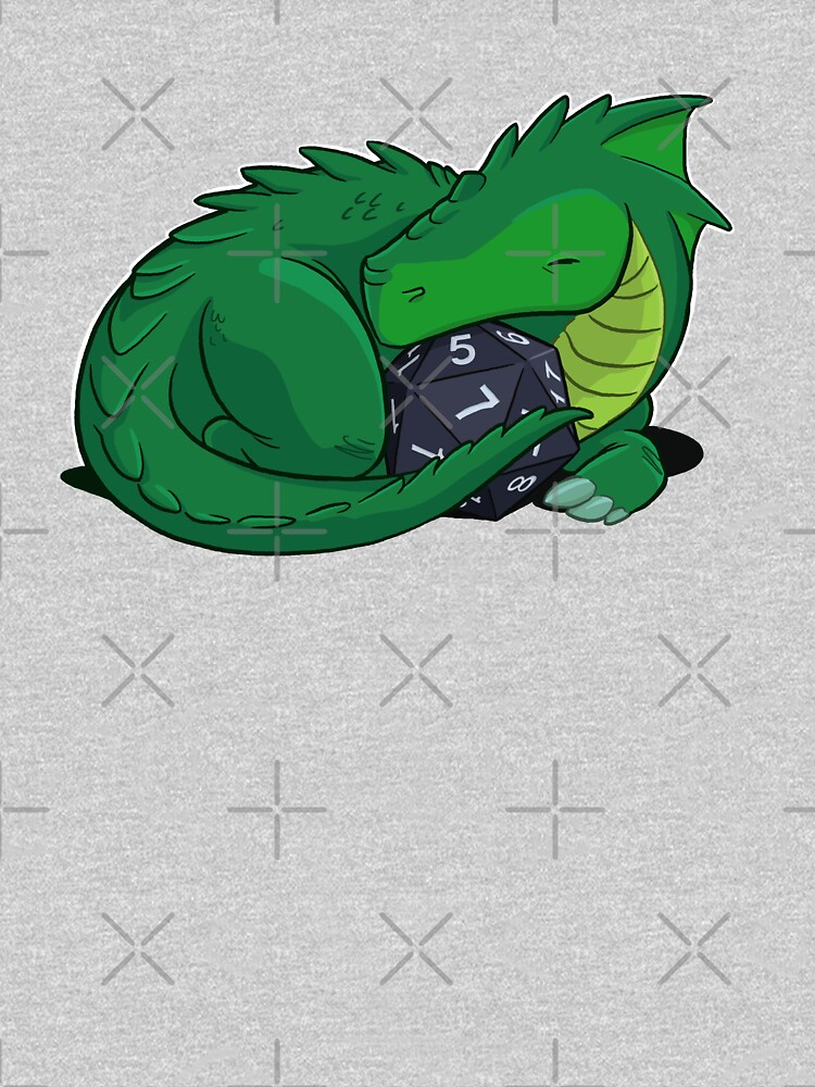 D20 Green Dragon by powersdesign
