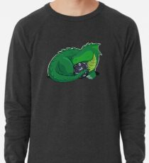 D20 Green Dragon Leichter Pullover