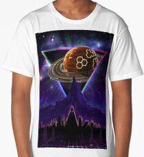 Summon the Future - Synthwave Blade Runner Future Long T-Shirt