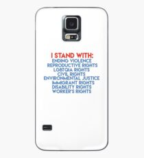 I STAND WITH Case/Skin for Samsung Galaxy