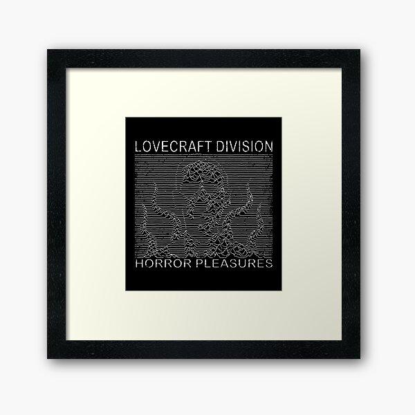 Lovecraft Division Framed Art Print