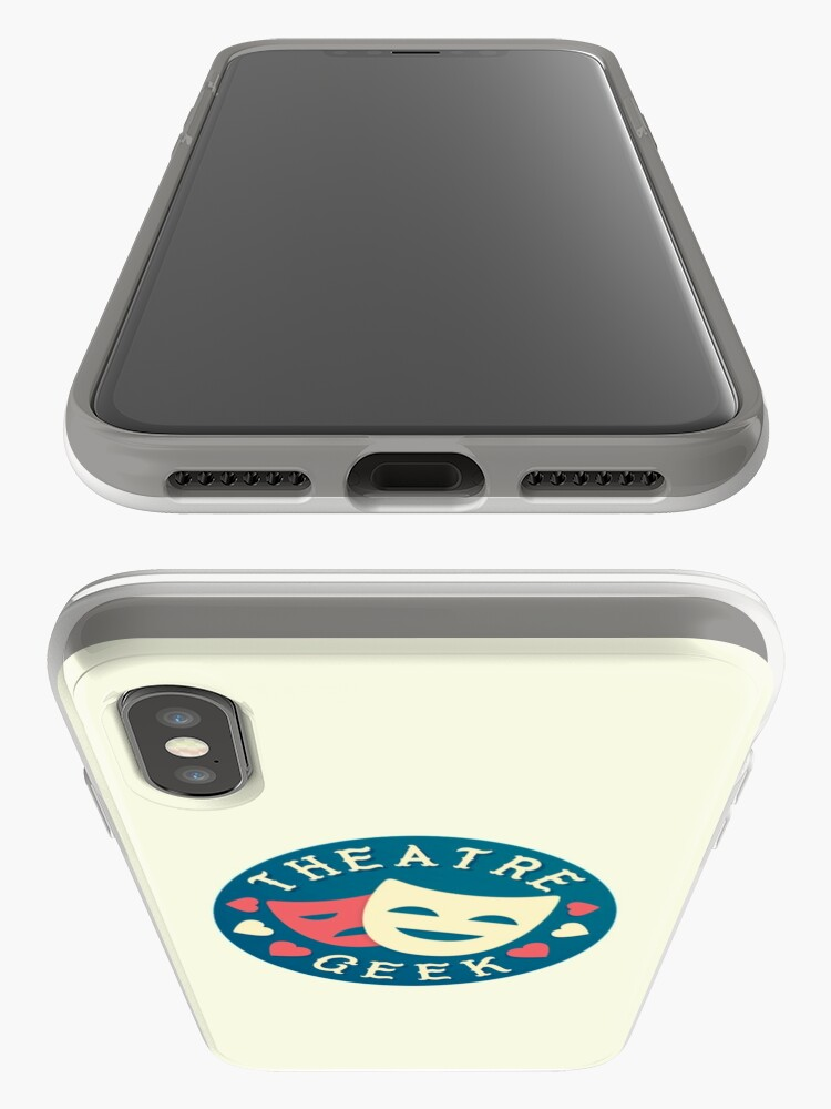 Alternate view of theatre geek iPhone Cases & Covers