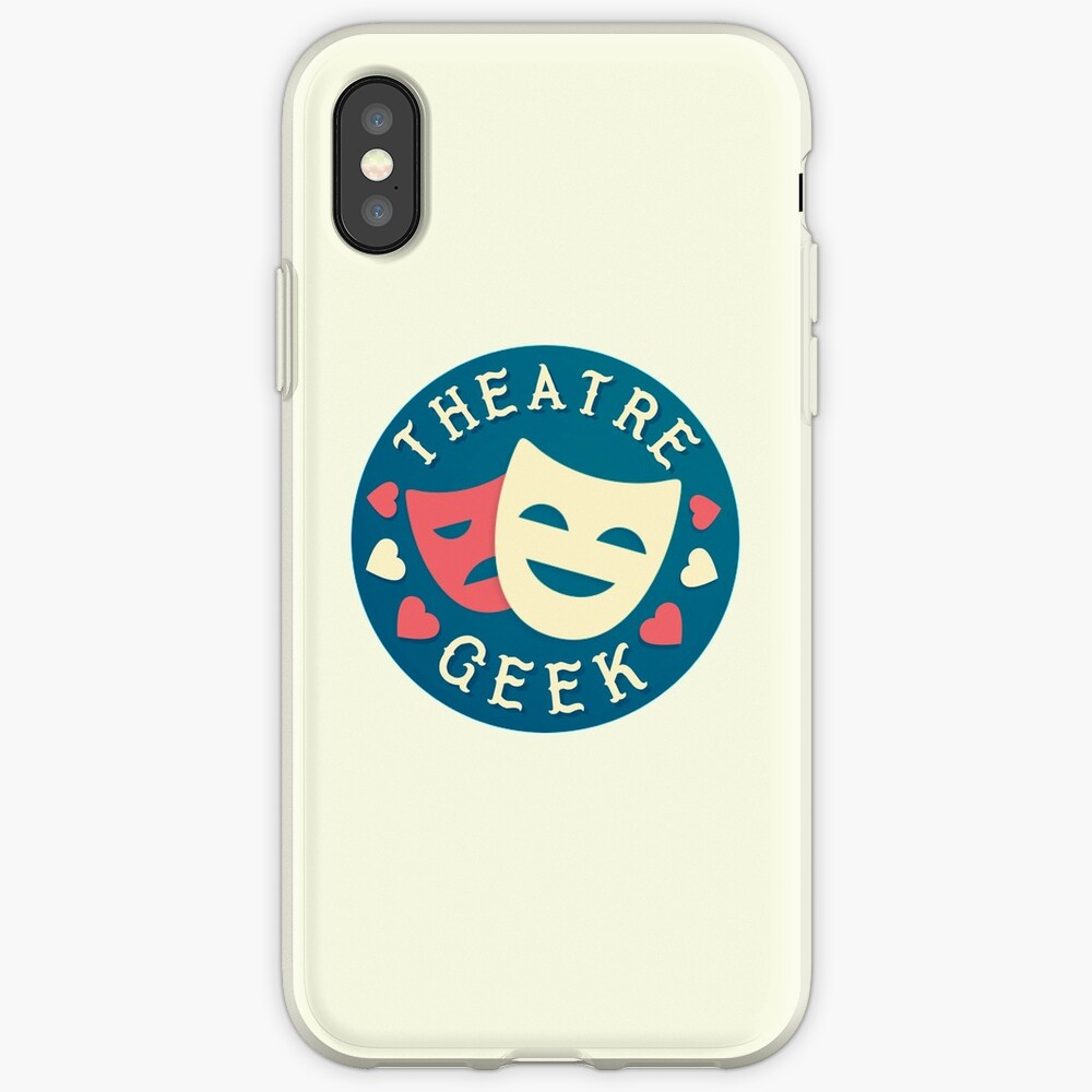 theatre geek iPhone Cases & Covers