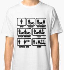 Motorbike Joke Classic T-Shirt