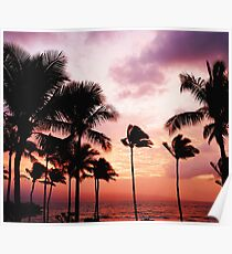Summer LA Palms #tapestry  Poster
