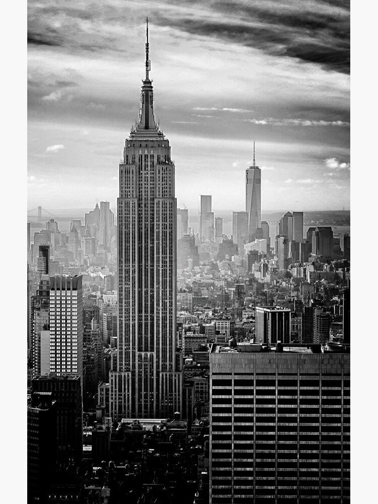 New York City Skyline by cadinera