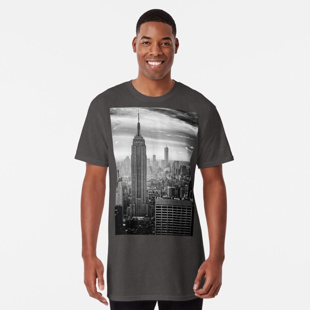 New York City Skyline Long T-Shirt