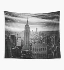 New York City Skyline Wall Tapestry
