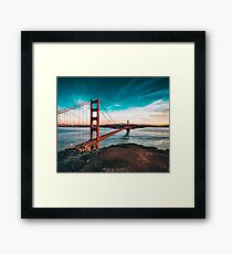 Golden Gate Bridge, San Francisco, California - Photography Framed Print