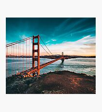 Golden Gate Bridge, San Francisco, California - Photography Photographic Print