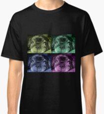 Black Pug dog Classic T-Shirt