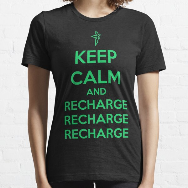 Keep Calm and Recharge (ENL) Essential T-Shirt