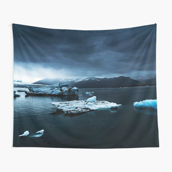Iceland Photography #tapestry #block Tapestry