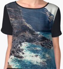 Wild Coast - Tijarafe - La Palma - Canary Islands Women's Chiffon Top