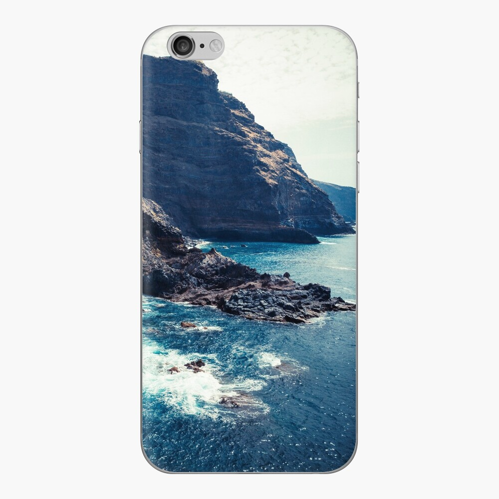 Wild Coast - Tijarafe - La Palma - Canary Islands iPhone Skin