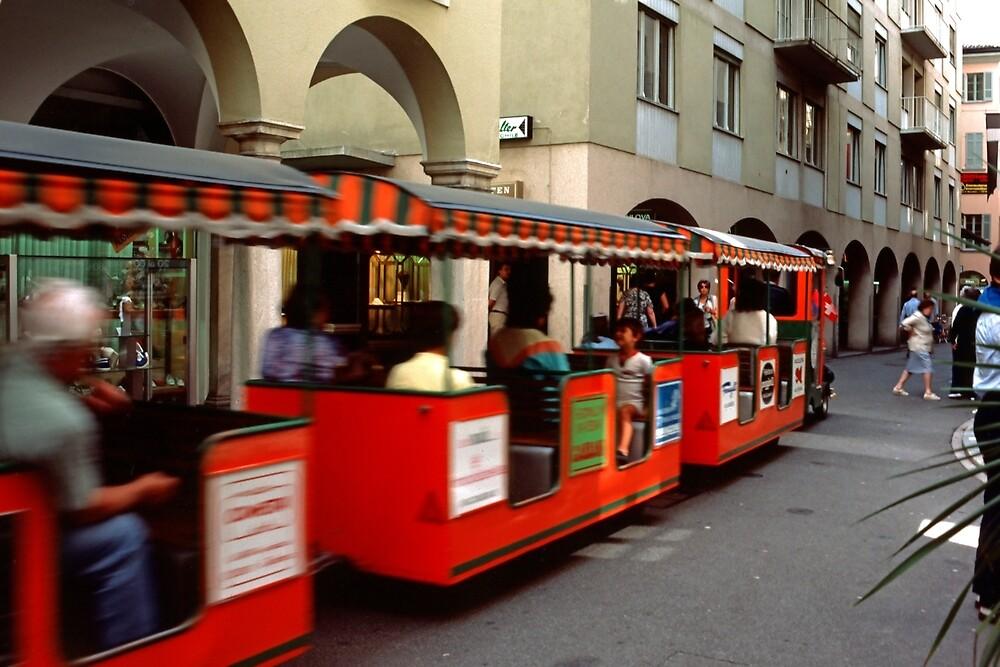 Touring Lugano in Colour by Priscilla Turner