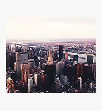 New York City Cityscape Skyscape #trending #tapestry Photographic Print