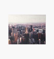 New York City Cityscape Skyscape #trending #tapestry Art Board