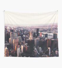 Tela decorativa Paisaje urbano de Nueva York Skyscape #trending #tapestry