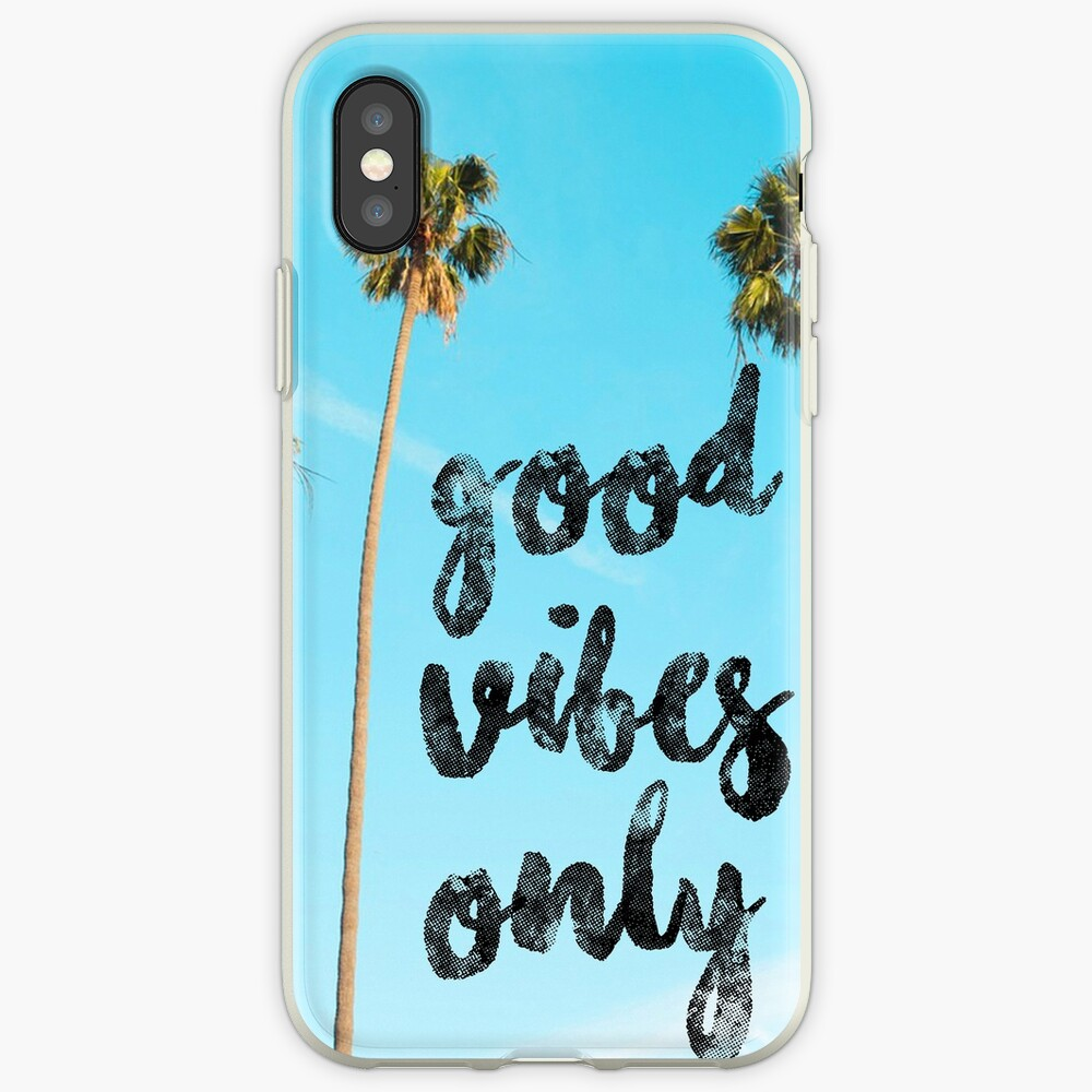 Gute LA Vibes Nur #redbubble iPhone-Hüllen & Cover