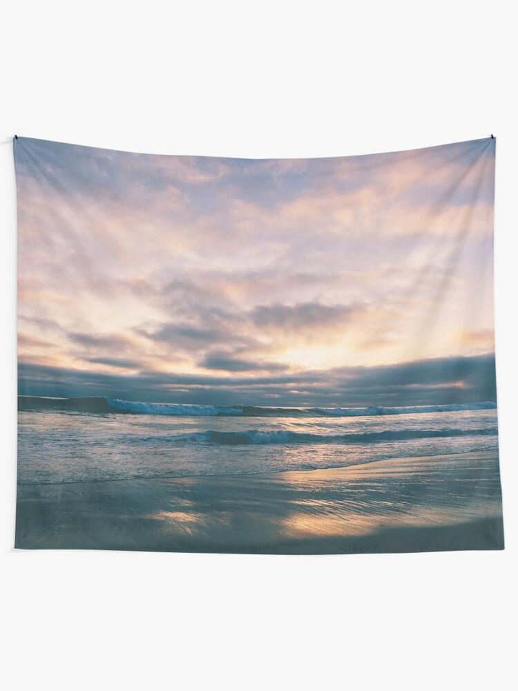 Alternate view of Sunrise Ocean Tapestry