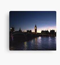 London Photography #tapestry #redbubble Canvas Print