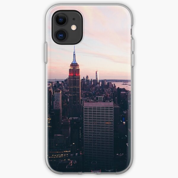 New York City Cityscape #tapestry #redbubble iPhone Soft Case