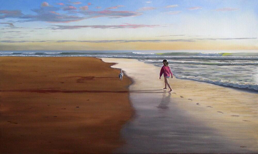 Beach Stroll by Martin Clarke
