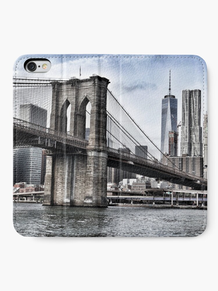 Alternate view of NYC #tapestry #decor #trending iPhone Wallet