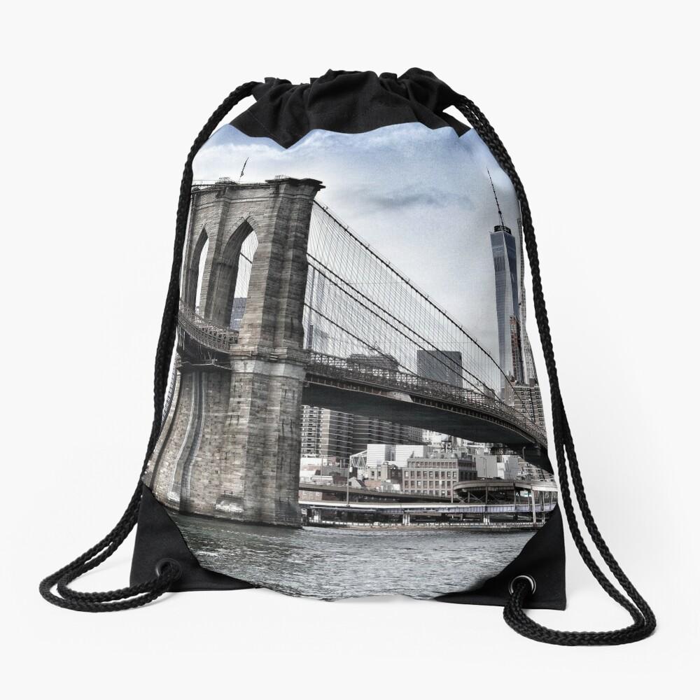 NYC #tapestry #decor #trending Drawstring Bag
