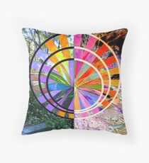 Inverted Windmill Throw Pillow